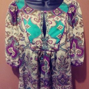 Nicole by Nicole Miller Blouse Shirt Size 12